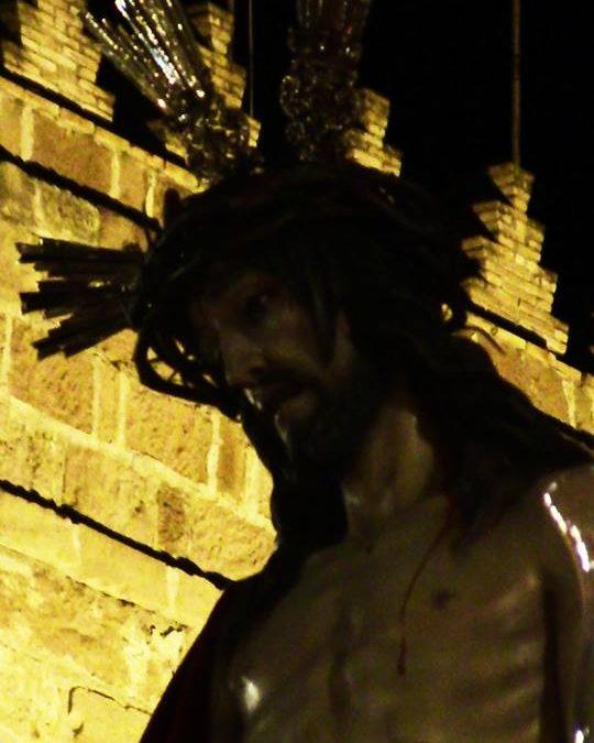 Hdad. y Cdía. de Nazarenos del Stmo. Cristo de la Humildad en su Presentación al Pueblo y San Bartolomé Apostol 1