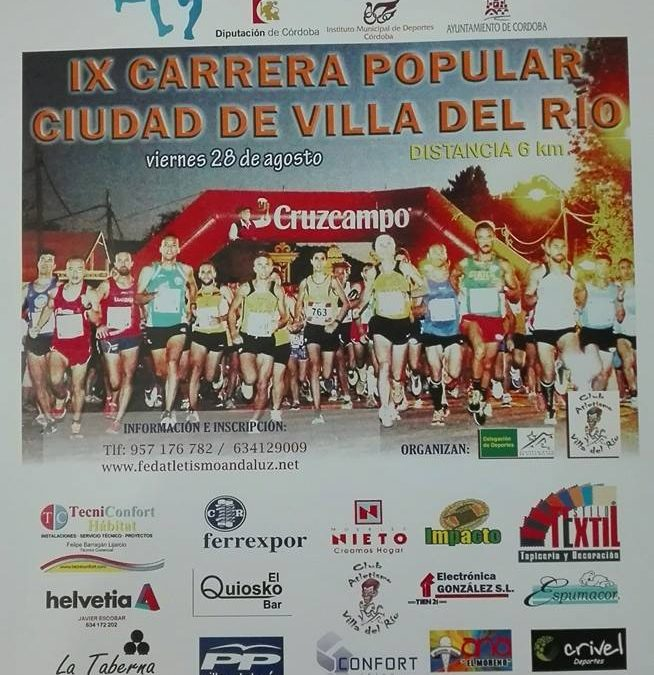 IX Carrera Popular Ciudad de Villa del Río
