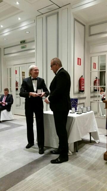 El modisto villarrense José Pvertas medalla de oro al mérito profesional 1
