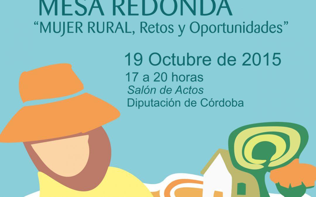 Mesa redonda Mujer Rural