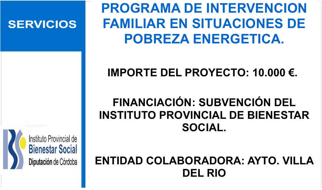 Subvenciones recibidas del Instituto Provincial de Bienestar Social 1