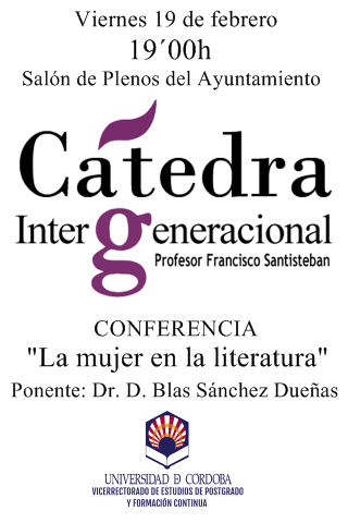 SEGUNDA CONFERENCIA CÁTEDRA INTERGENERACIONAL DE LA UNIVERSIDAD DE CÓRDOBA 1