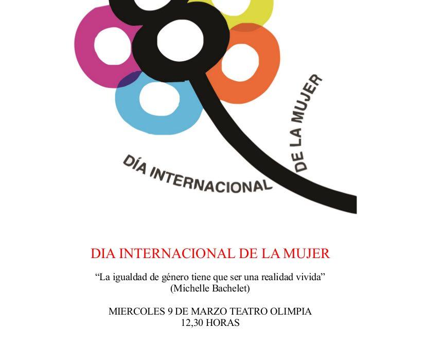 ACTIVIDAD CONMEMORATIVA POR EL DÍA INTERNACIONAL DE LA MUJER 1