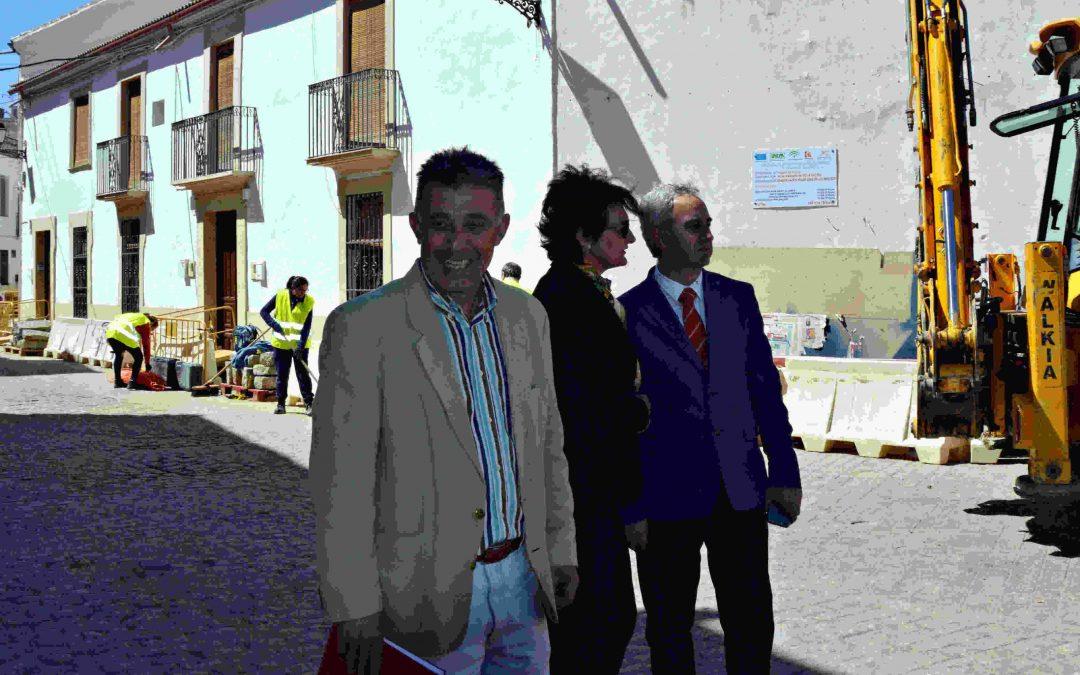 El Diputado Provincial de Cooperación con los Municipios visita Villa del Río 1