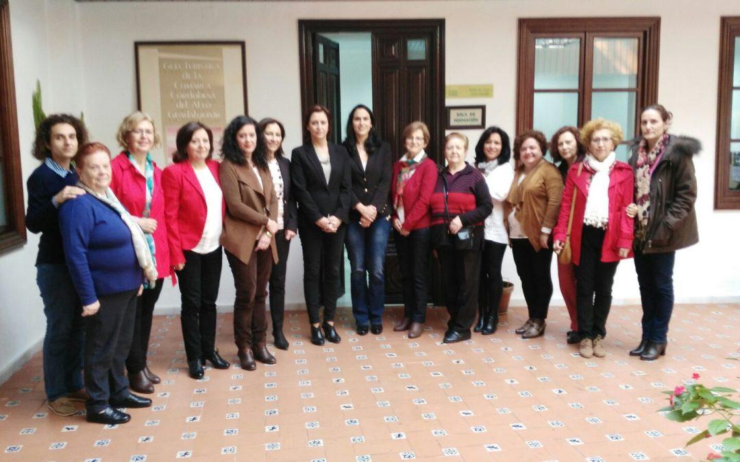 Reunion Concejala de Igualdad de Villa del Río con Coordinadora Provincial del IAM