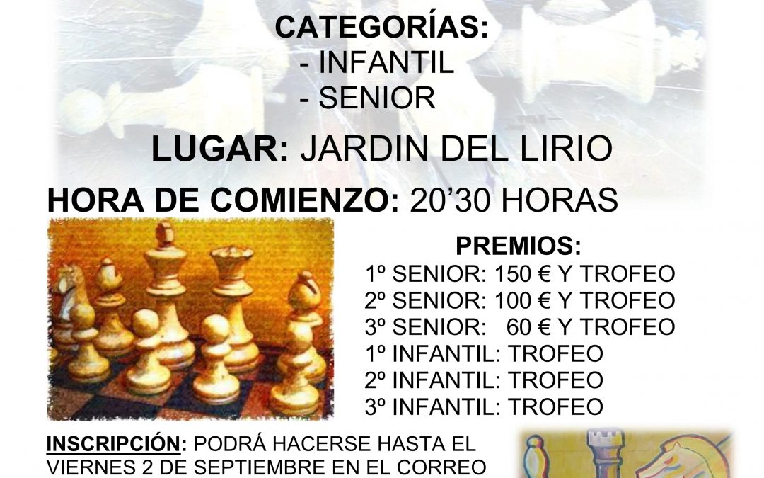memorial de ajedrez 2016