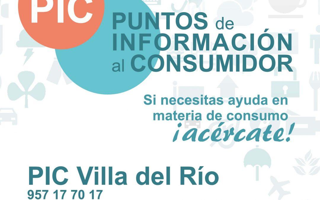 Cartel Punto de Información al Consumidor 1