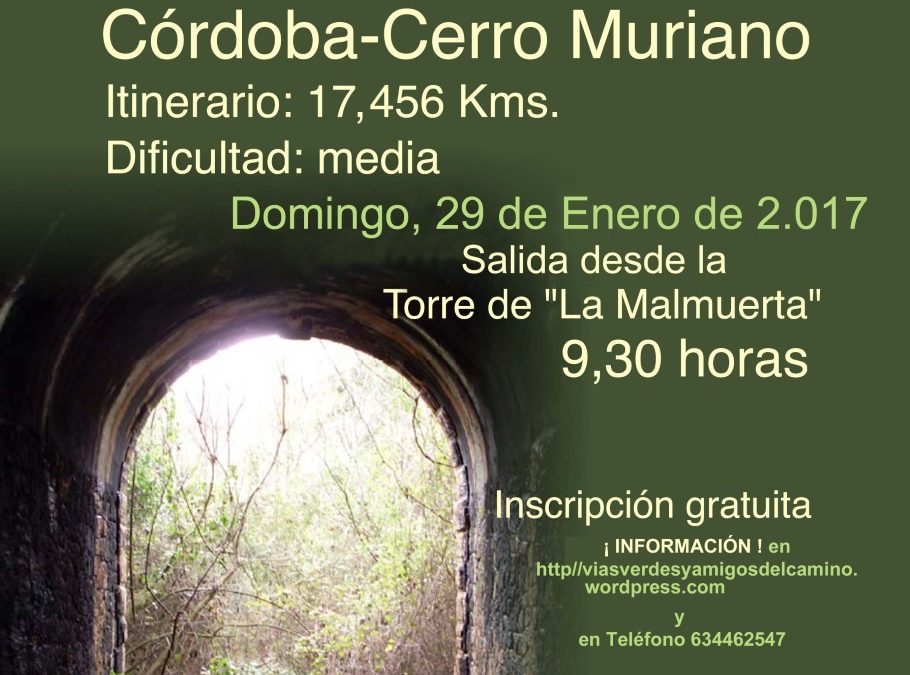 Senderismo vía verde Córdoba-Cerro Muriano 1