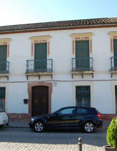 Casa de la famila García. Fue construida en 1907. Es de arquitectura popular de la zona