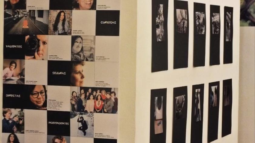 Exposición y visualización de los trabajos del taller de fotografía crítica y creativa con smartphone y cámara digital 1