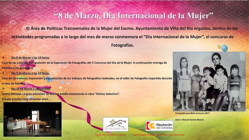 Programación Día Internacional de la Mujer 1