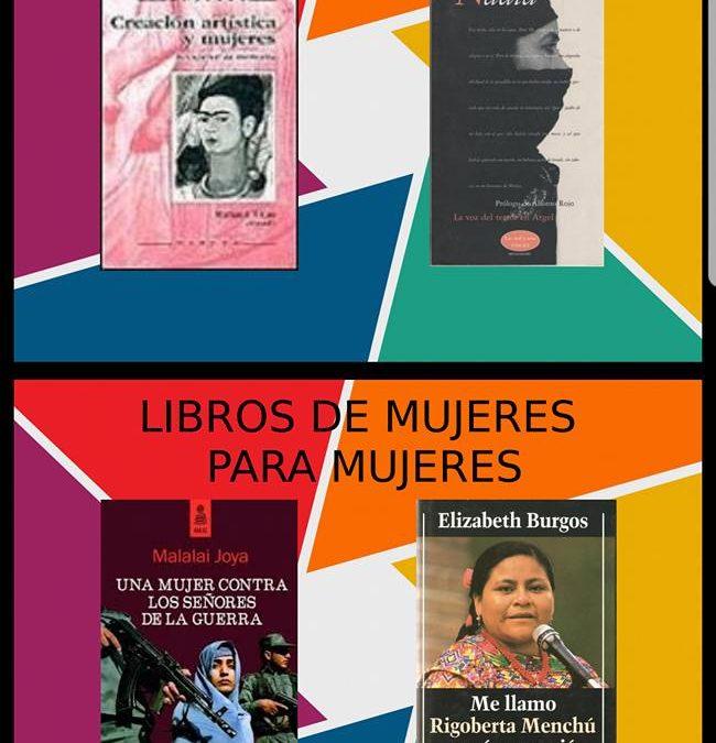 """Libros para celebrar el 8 de Marzo """"Día Internacional de la Mujer"""" 1"""