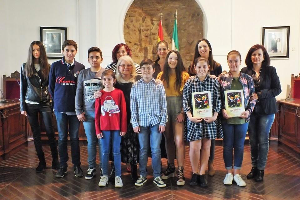 """Entrega de Premios XXI Certamen Escolar de Poesía """"Poeta Molleja"""" 1"""