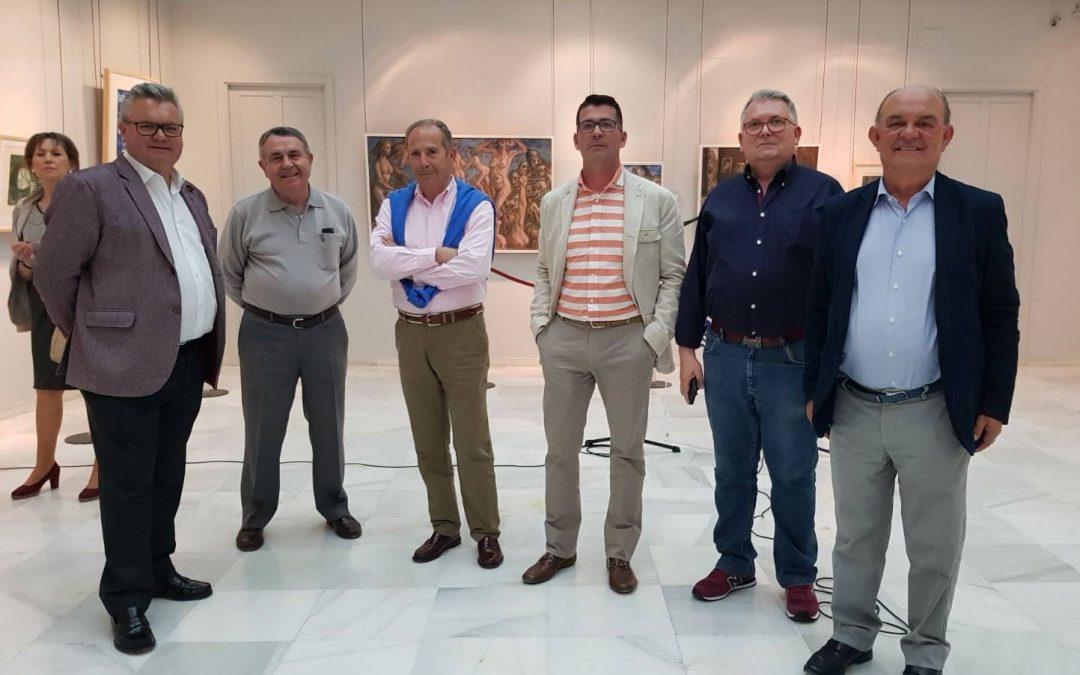 """Exposición """"Pintores Concatenados"""" en Puente Genil 1"""