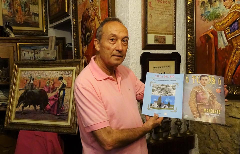 """Villa del Río en el numero extraordinario de la revista """"6 toros 6"""" dedicada a Manolete, Vida y Leyenda 1917-1947 1"""