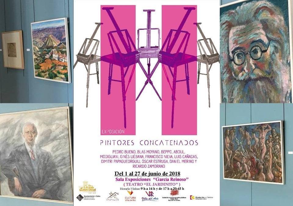 """Exposición """"Pintores Concatenados"""" en PCabra 1"""