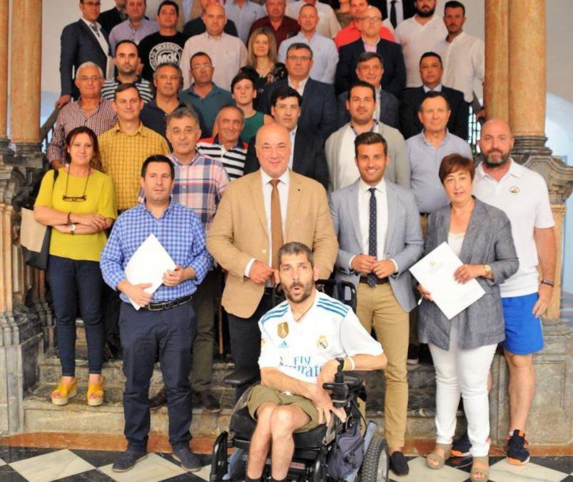 Firma del convenio con la Diputación de Córdoba para el XXXII Trofeo Ibérico Internacional de Pesca 1