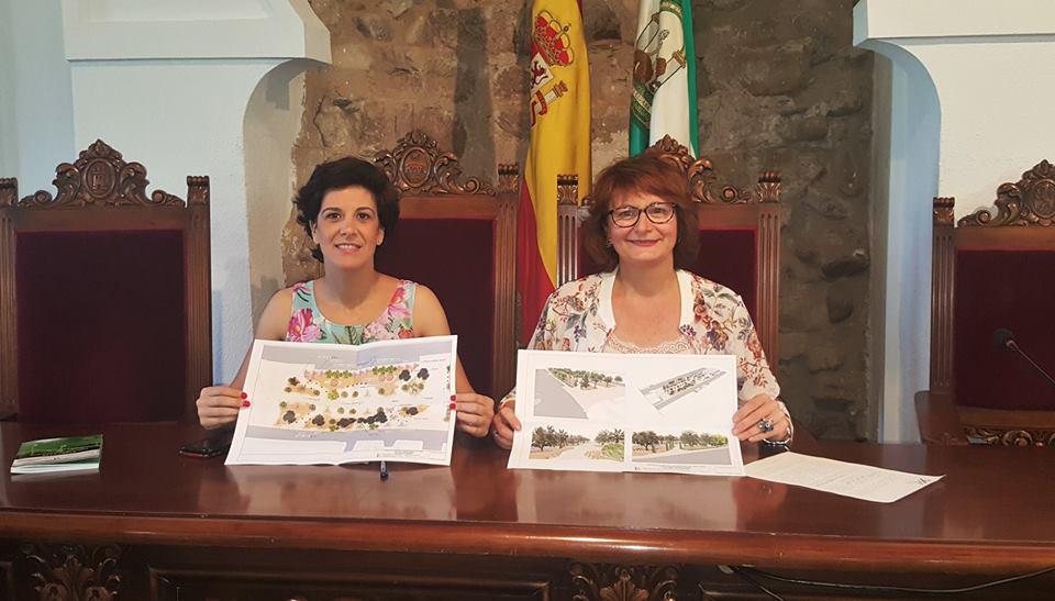 """Presentado el proyecto """"Paseo Adolfo Suárez"""" 1"""