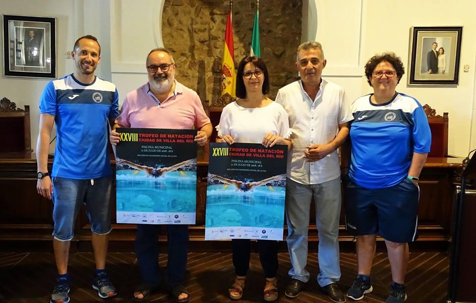 Presentación del XXVIII Trofeo de Natación Ciudad de Villa del Río 2