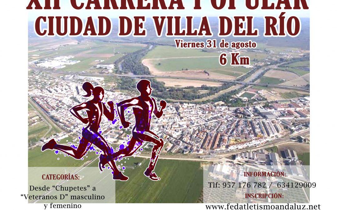 XII Carrera Popular Ciudad de Villa del Río 1