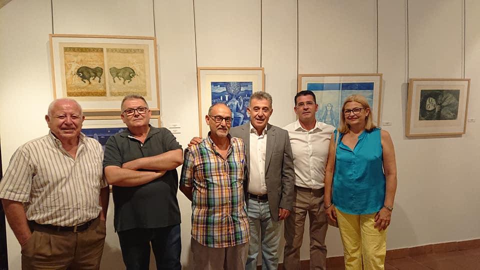 """Inauguración Exposición """"Pintores Concatenados"""" 1"""