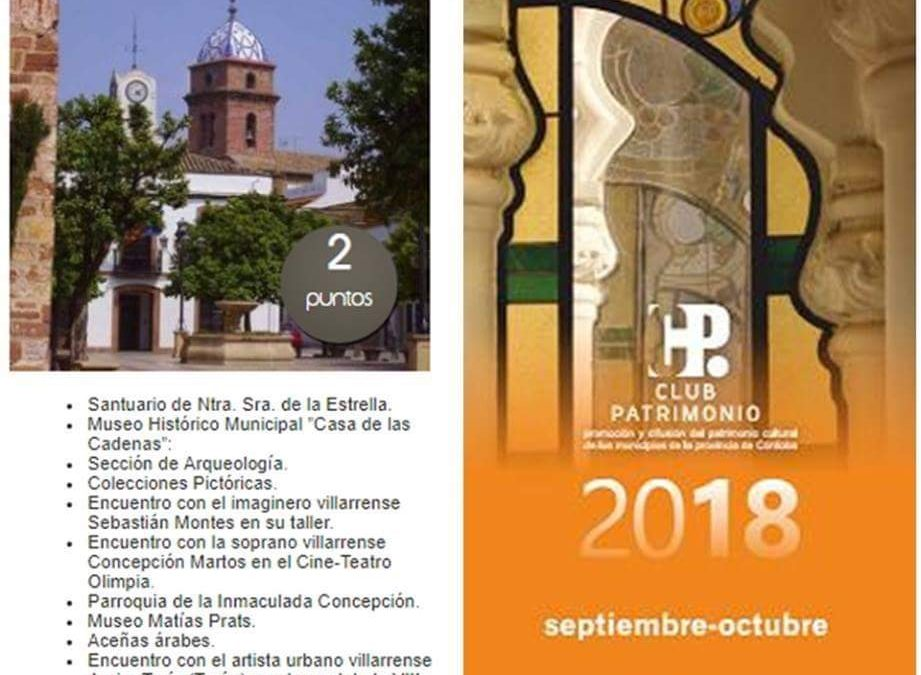 Próxima visita de socios del Club Patrimonio de Córdoba 1