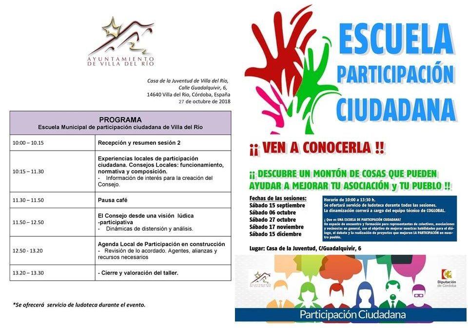 III Escuela de Participación Ciudadana - 3º Encuentro 1