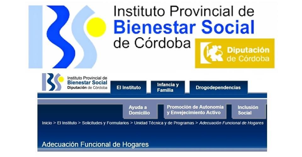 Convocatoria para la concesión de subvenciones dentro del programa de adecuación funcional del hogar 2018 1