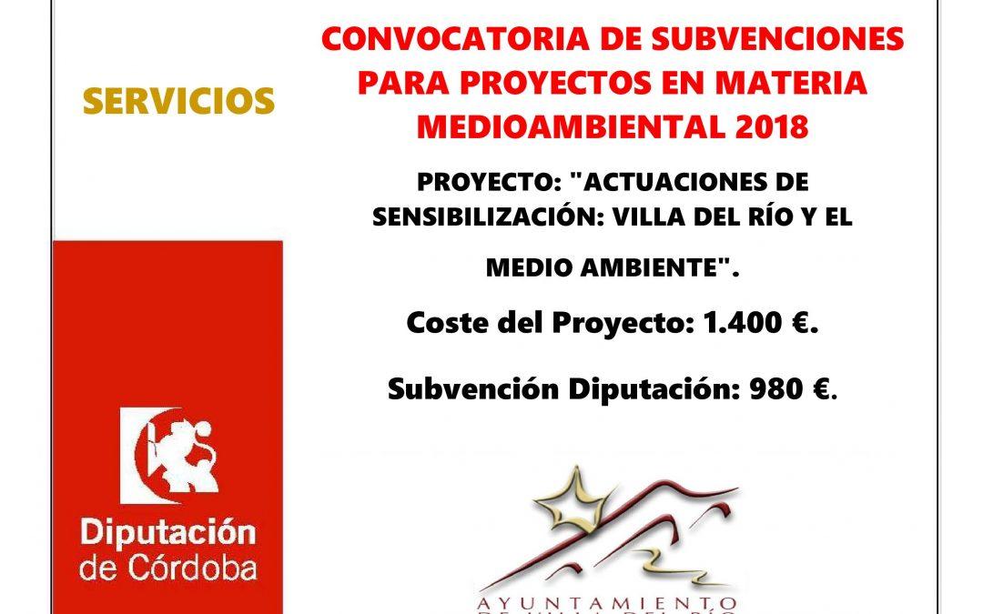 Mejora ambiental y paisajistica de la zona urbana anexa a la ribera del Guadalquivir a su paso por Villa del Río. 1