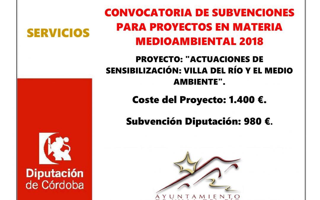 Actuaciones de Sensibilización: Villa del Río y el Medio Ambiente 1