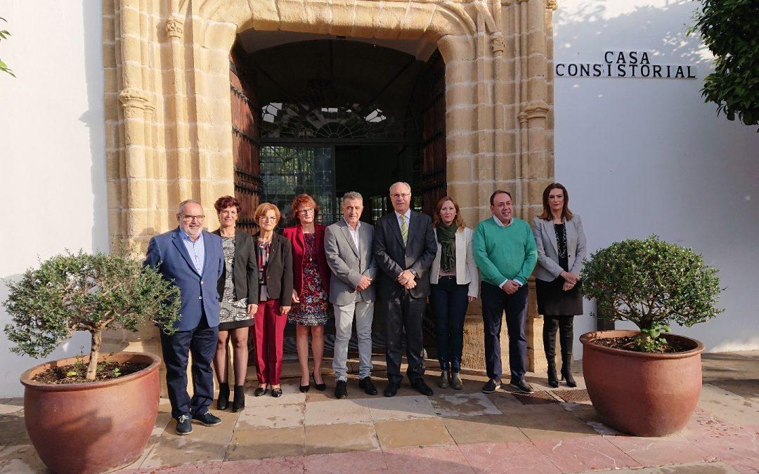 Visita Institucional a Villa del Río del Presidente del Parlamento de Andalucia 1