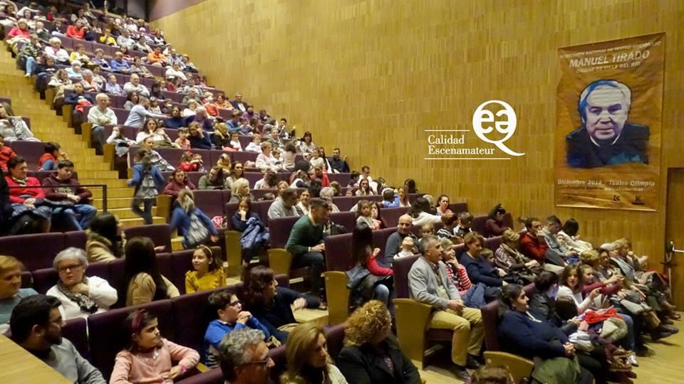 """El Certamen Nacional de Teatro """"Manuel Tirado"""", tendrá sello de calidad ESCENAMATEUR en su próxima edición 2019 1"""