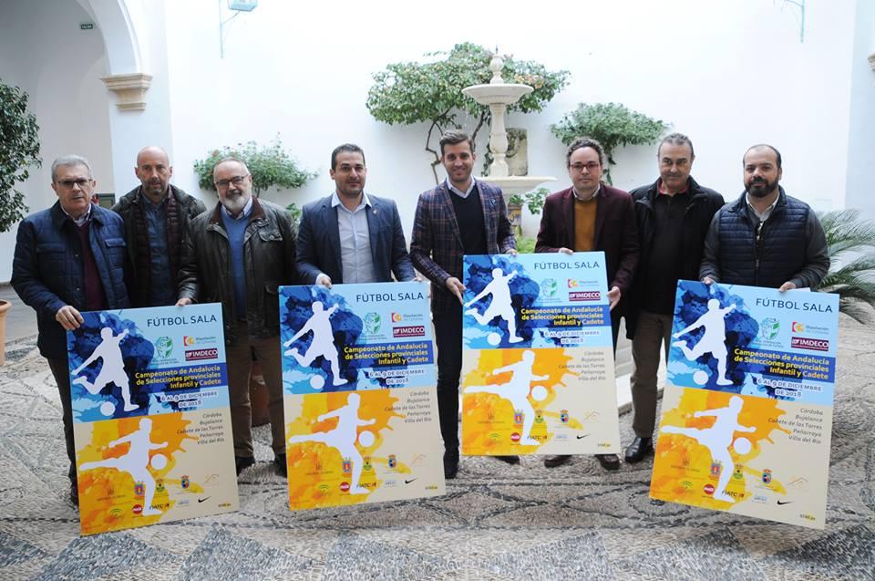 Villa del Río acogerá el Campeonato de Andalucía Infantil y Cadete de Fútbol Sala 1