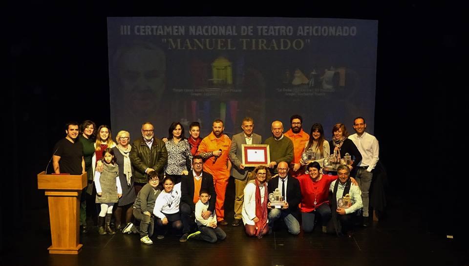 Gala Final III Certamen Nacional de Teatro Aficionado 'Manuel Tirado' 1