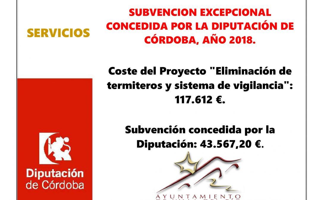 """Proyecto """"Eliminación de termiteros y sistema de vigilancia"""" 1"""