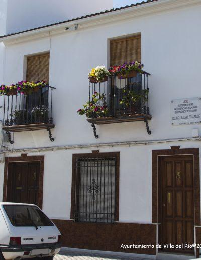 Casa donde nació Pedro Bueno, pintor de la Villa del Río, Primera Medalla Nacional de Bellas Artes