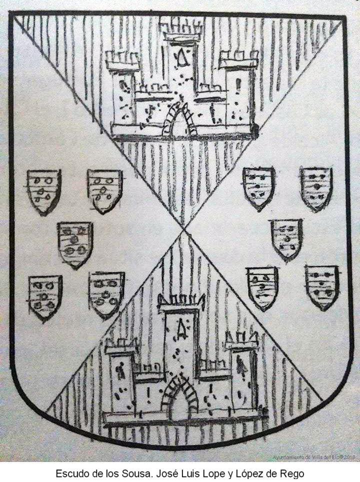 Escudo de los Sousa