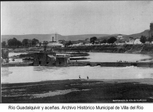 Río Guadalquivir y aceñas