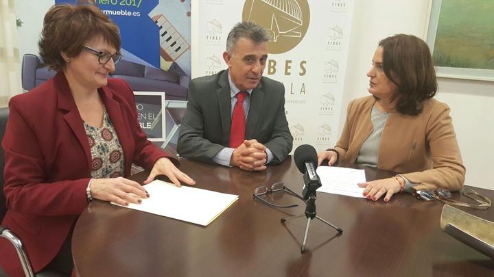 Foto del acuerdo firmado en la pasada edición 2017