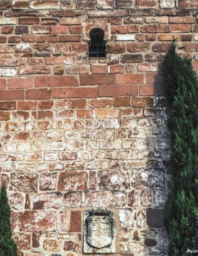 Torre de Levante. El castillo está flanqueado por dos torres, una a poniente y otra a levante