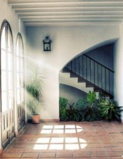 """Casa de las cadenas. La casa fue vivienda para un linaje poderoso e influyente de Villa del Río: """"Los Molleja"""""""