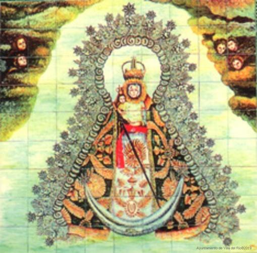 La imagen es del s. XX. Fue encargada por el párroco D. Miguel Sánchez al escultor Juan Martínez Cerrillo y bendecida en 1940