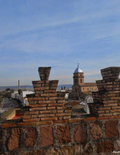 Vistas desde la terraza del Castillo