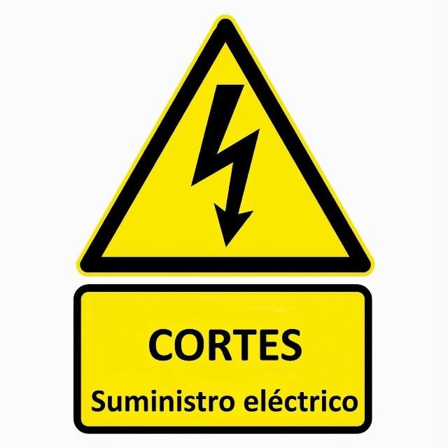 Cortes suministro eléctrico 1