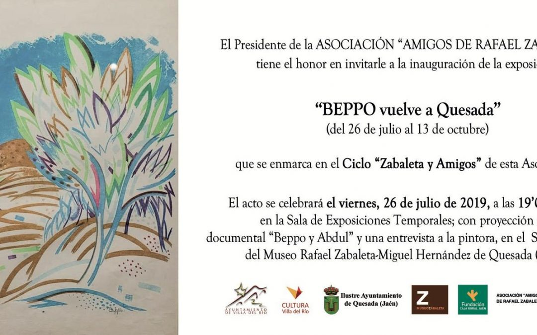 Exposición Homenaje 'Beppo vuelve a Quesada'