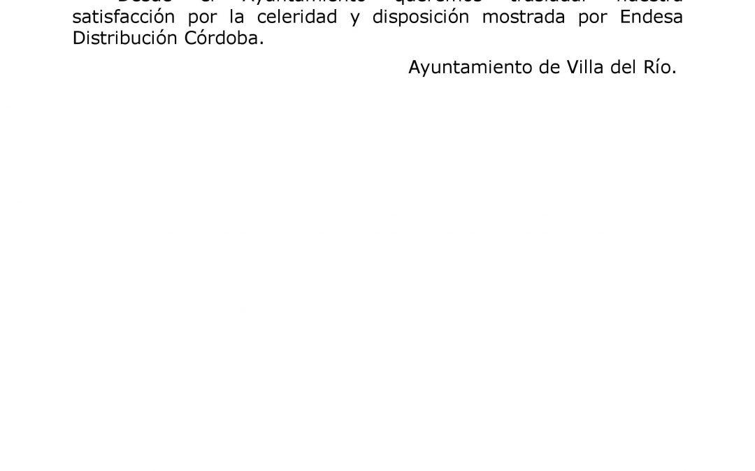 COMIENZAN LOS TRABAJOS DE MEJORA DEL SUMINISTRO ELÉCTRICO EN NUESTRO MUNICIPIO