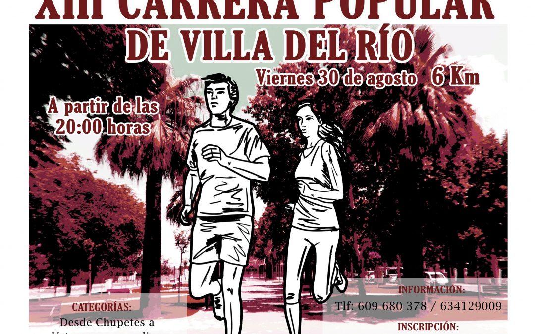 XIII Carrera Popular de Villa del Río