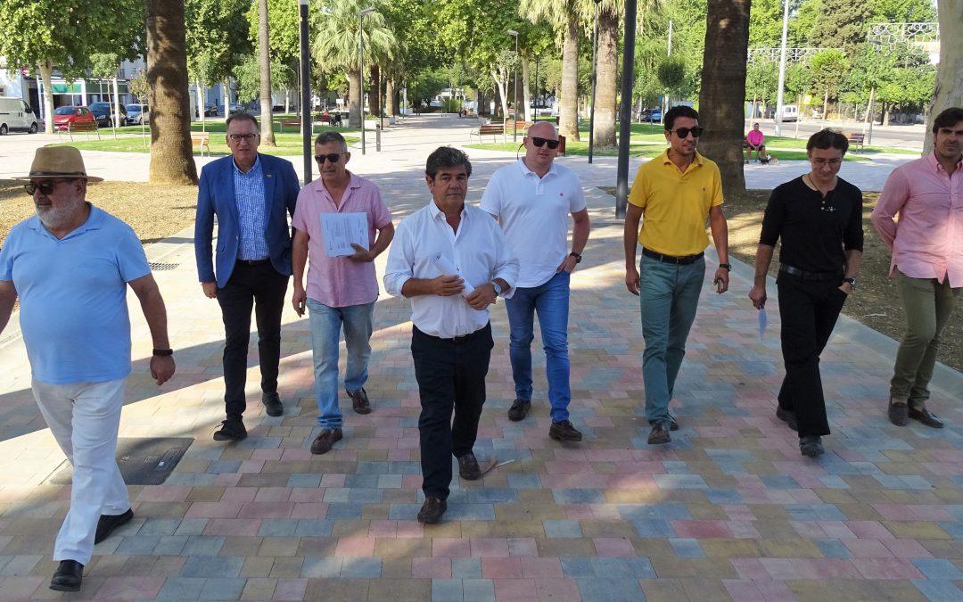 OBRAS DE REMODELACIÓN DEL PASEO 'PRESIDENTE ADOLFO SUÁREZ'
