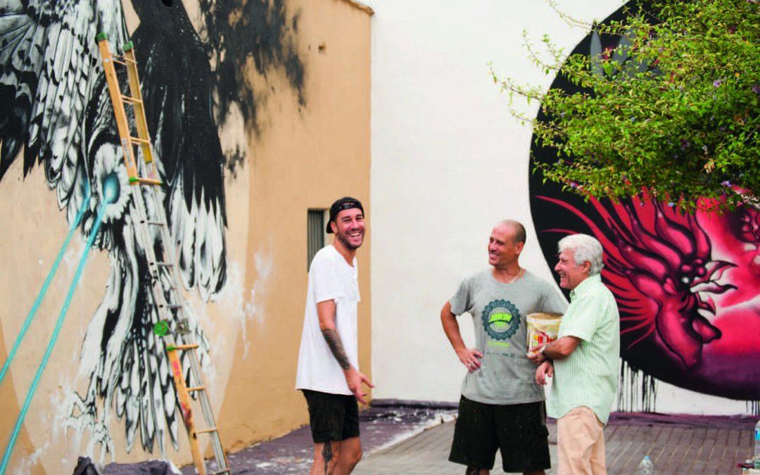 D. José Collado Córdoba junto a D. Javier Tarín Sánchez y D. Miguel Pérez Moreno