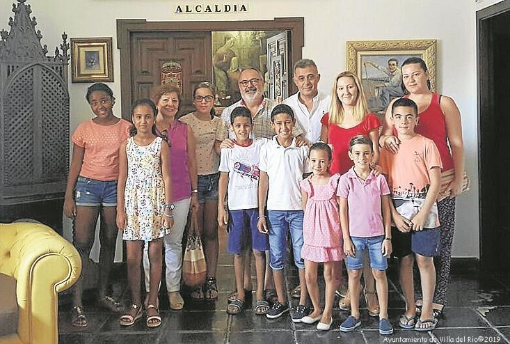 Reconocimiento a la Delegación de Villa del Río de la Asociación cordobesa de Amistad con los niñ@s saharauis